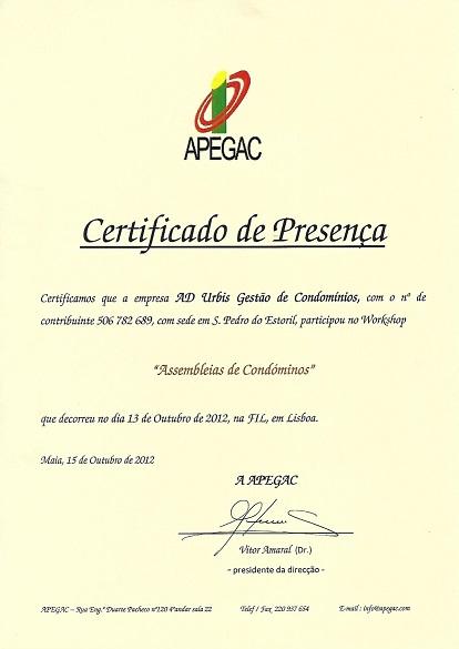 2012 - Assembleias de Condóminos