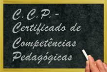 CCP - Certificado de Competências Pedagócicas
